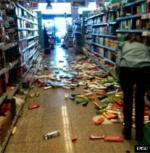 Earthquake: Chania Greece,  October 2013