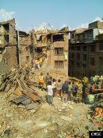 Earthquake: Bhaktapur Nepal,  April 2015