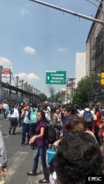Earthquake: Nezahualcóyotl Mexico,  September 2017