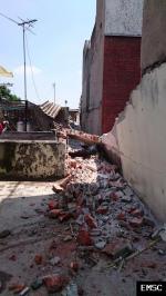 Earthquake: Heroica Puebla de Zaragoza Mexico,  September 2017