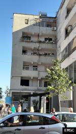 Earthquake: Durres Albania,  September 2019
