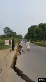 Earthquake: Swābi Pakistan,  September 2019