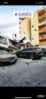 Earthquake: Farkë Albania,  November 2019