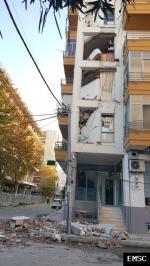 Earthquake: Tiranë Albania,  November 2019