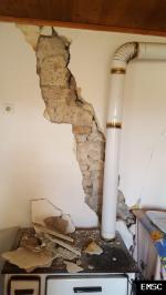 Earthquake: Bushat Albania,  November 2019