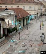 Earthquake: Karlovac Croatia,  March 2020