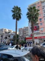 Earthquake: Gaziemir Turkey,  October 2020