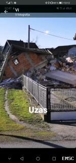 Earthquake: Zagreb Croatia,  December 2020