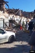 Earthquake: Stenjevec Croatia,  December 2020