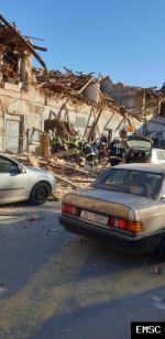 Earthquake: Glina Croatia,  December 2020